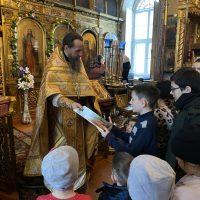 Галерея - Урок родной истории в храме села Завидово